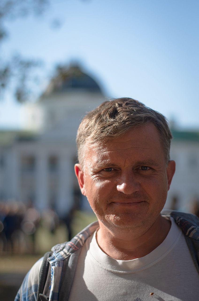Портрет Юрія Єськіна, Качановка - Photo by Oleksii Marchenko