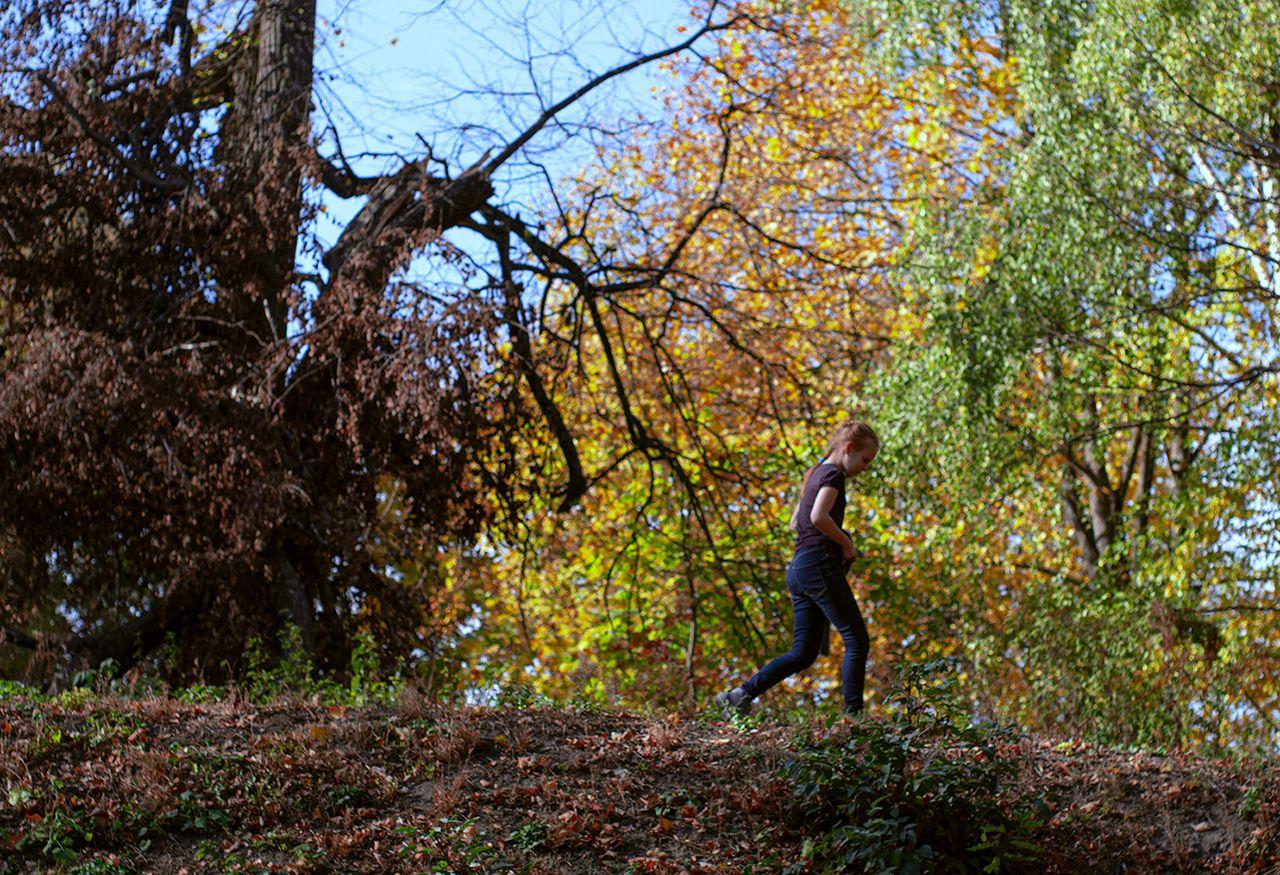 Під час прогулянки в Качанівці -  Photo by Oleksii Marchenko